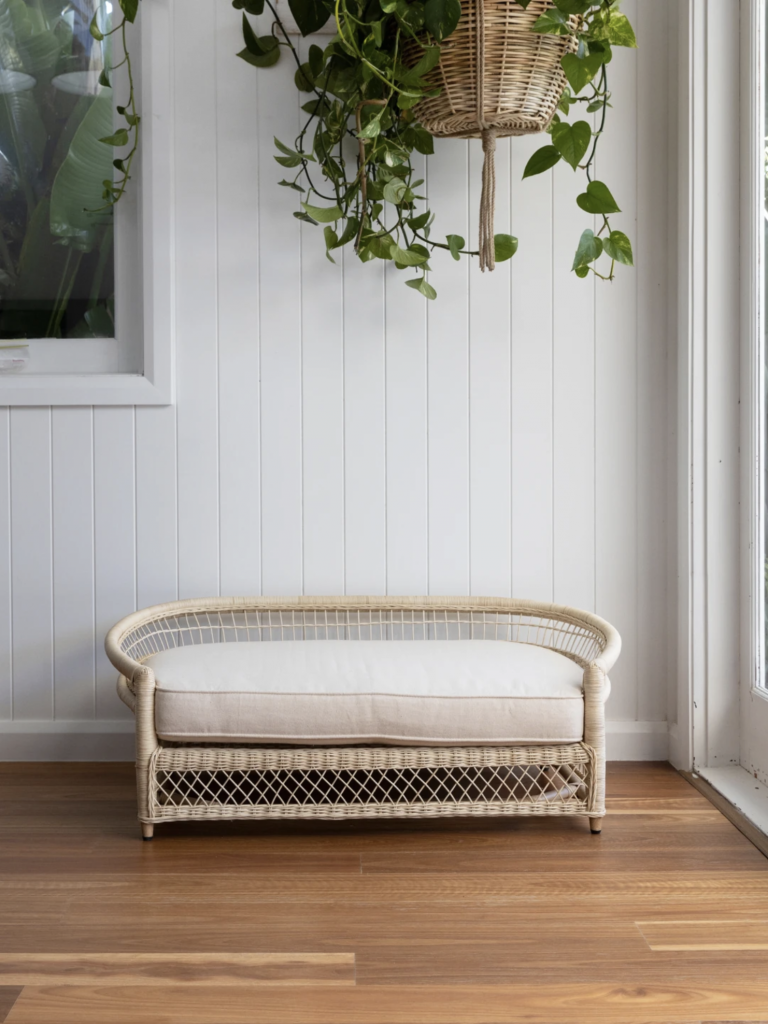 ROUND-UP: 25+ Rattan and Wicker Dog Beds and Baskets You'll Love - feat. Malawi Rattan Pet Bed from The Bee's Knees Collective