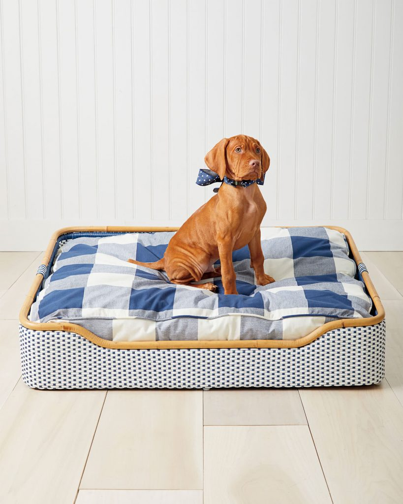 ROUND-UP: 25+ Rattan and Wicker Dog Beds and Baskets You'll Love - feat. Riviera Dog Bed from Serena & Lily