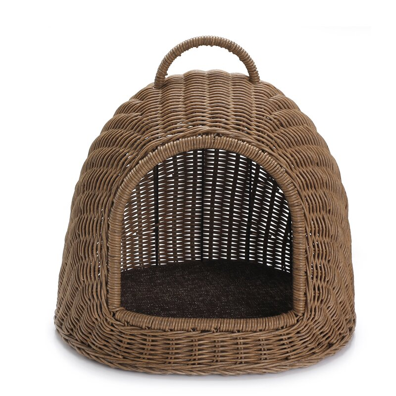 Hooded Pet Bed from Wayfair