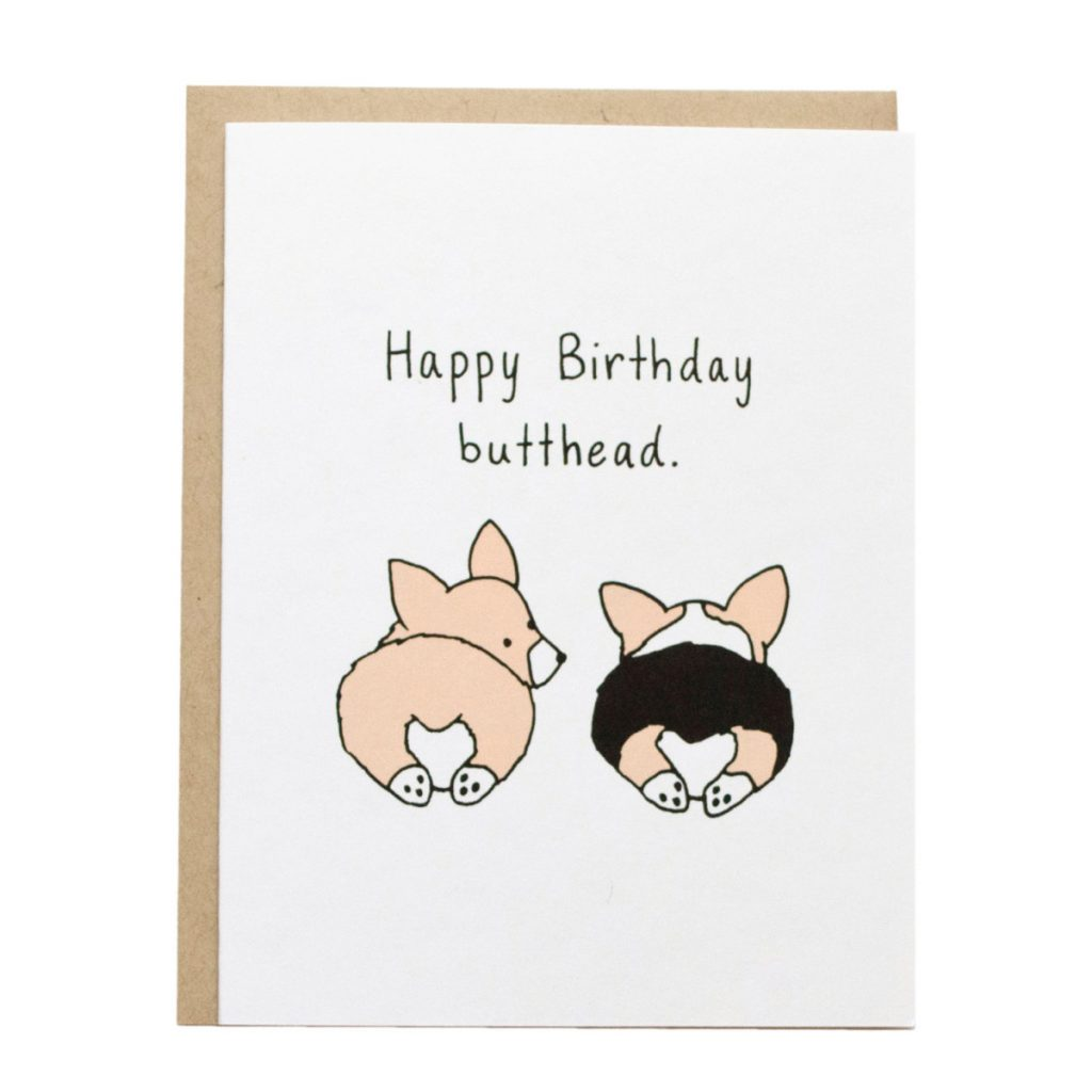 60 Gifts for Corgi Lovers, Corgi Birthday Card