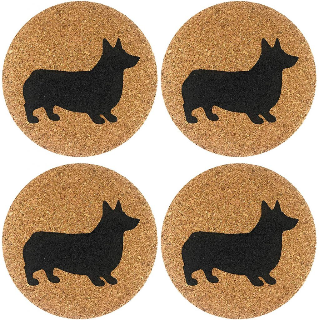 60 Gifts for Corgi Lovers, Corgi Coasters
