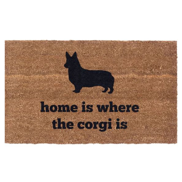 60 Gifts for Corgi Lovers, Corgi Decor, Corgi Door mat