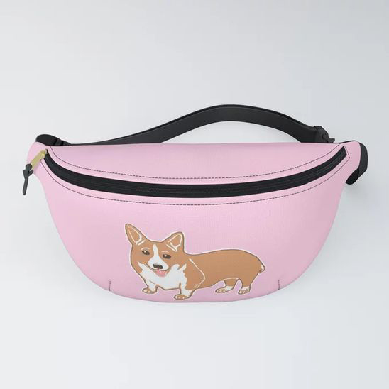 60 Gifts for Corgi Lovers, Corgi Fanny Pack, Corgi Bum Bag
