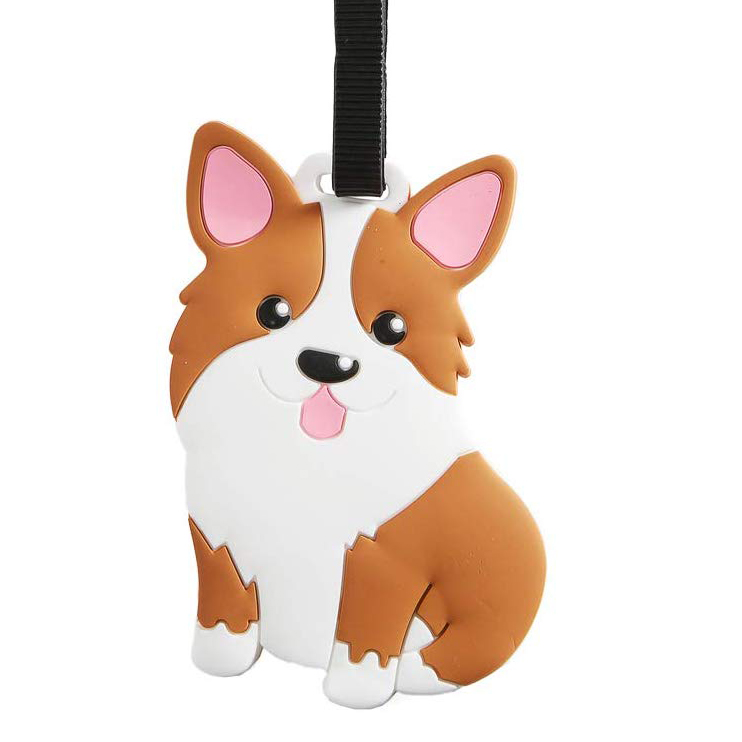 60 Gifts for Corgi Lovers, Corgi Luggage Tag