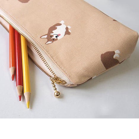 60 Gifts for Corgi Lovers, Corgi Pencil Case