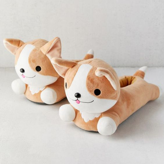 60 Gifts for Corgi Lovers, Corgi Slippers