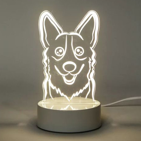 60 Gifts for Corgi Lovers, Corgi Decor, Corgi Lamp