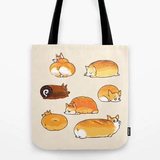 60 Gifts for Corgi Lovers, Corgi Shopping Tote