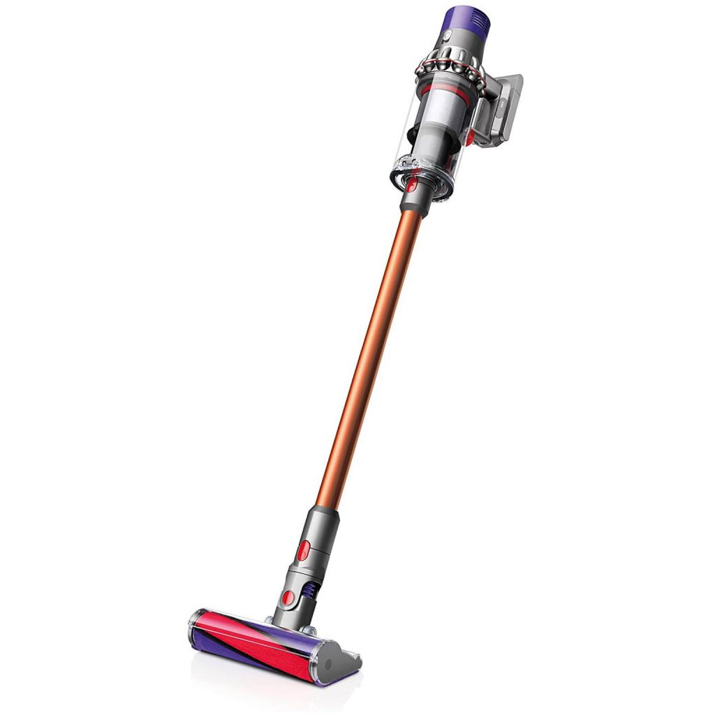 REVIEW: Shark vs Dyson for Pet Hair (Stick Vacuum Comparison) – heydjangles.com, Shark vs Dyson Cordless vacuum review, best stick vacs for pet hair, Dyson V10 Absolute.