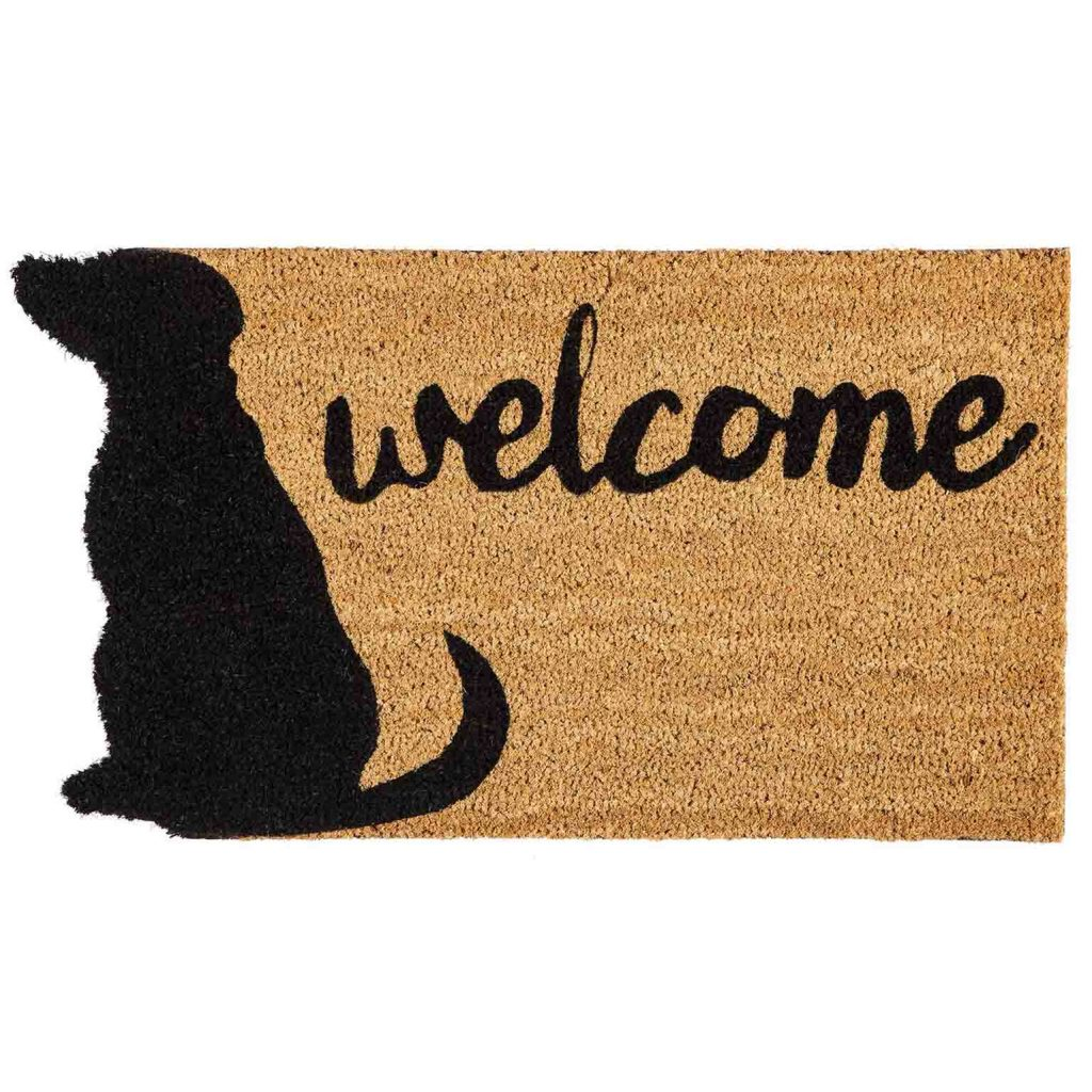 15 UNDER $50: Cute Dog Themed Doormats – Dog welcome mat.