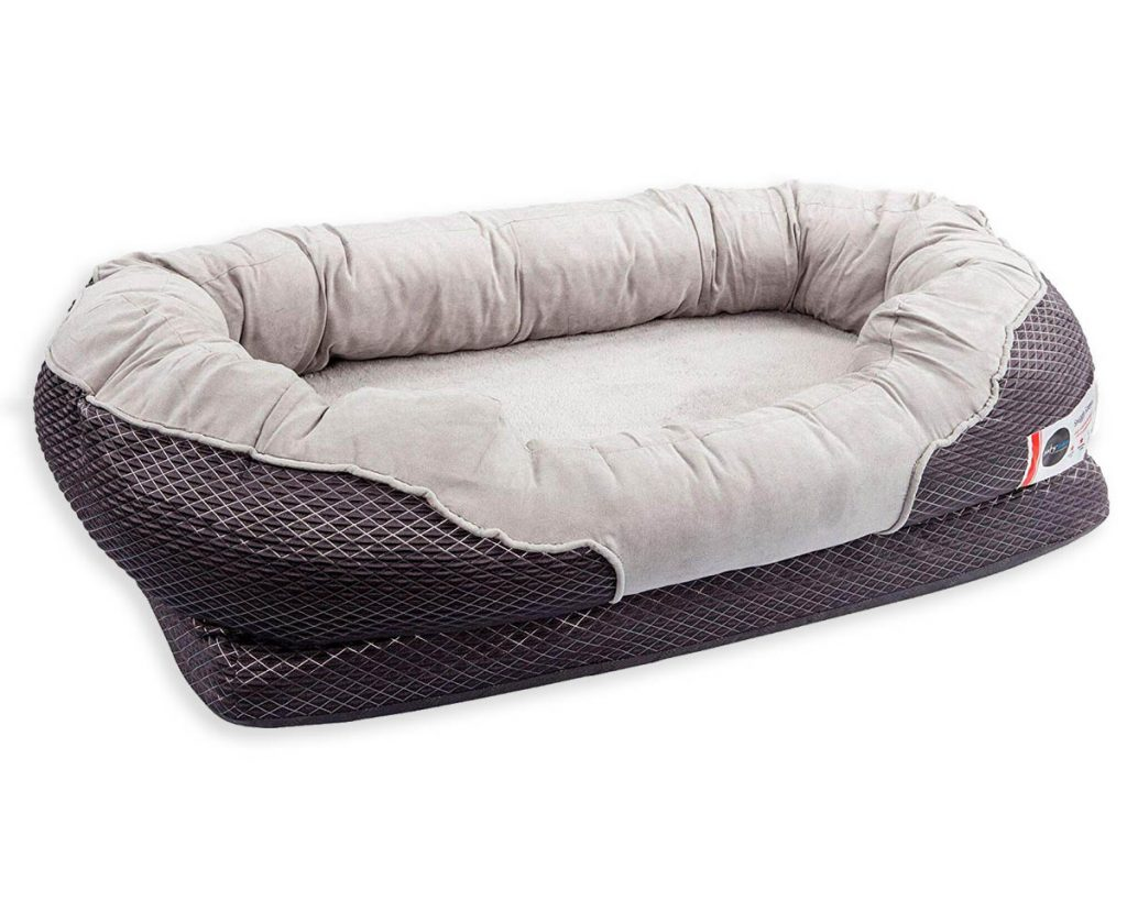 Best Orthopedic Dog Beds for Arthritis - heydjangles.com - memory foam dog bed.