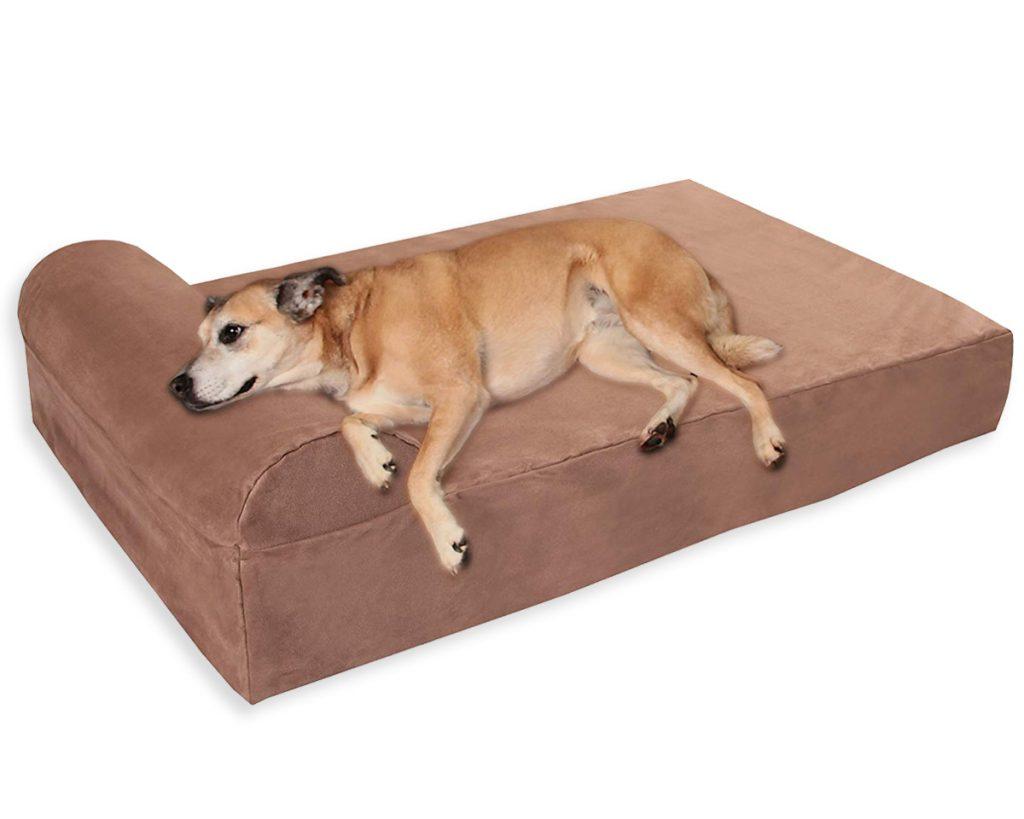 Best Orthopedic Dog Beds for Arthritis - heydjangles.com - memory foam dog bed.