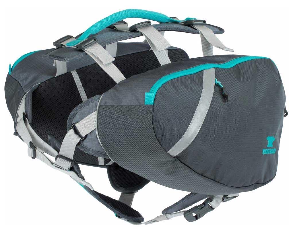 8 Best Saddlebags for Dogs: Backpacks for Adventurous Canines! – heydjangles.com – best dog saddle bags, dog backpacks with saddle bags, tactical dog backpacks, dogs that hike, Mountainsmith K9 dog pack.