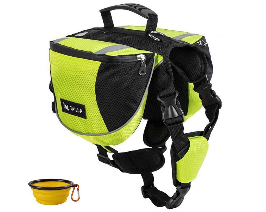 8 Best Saddlebags for Dogs: Backpacks for Adventurous Canines! – heydjangles.com – best dog saddle bags, dog backpacks with saddle bags, tactical dog backpacks, dogs that hike, GrayCell Dog travel backpack.
