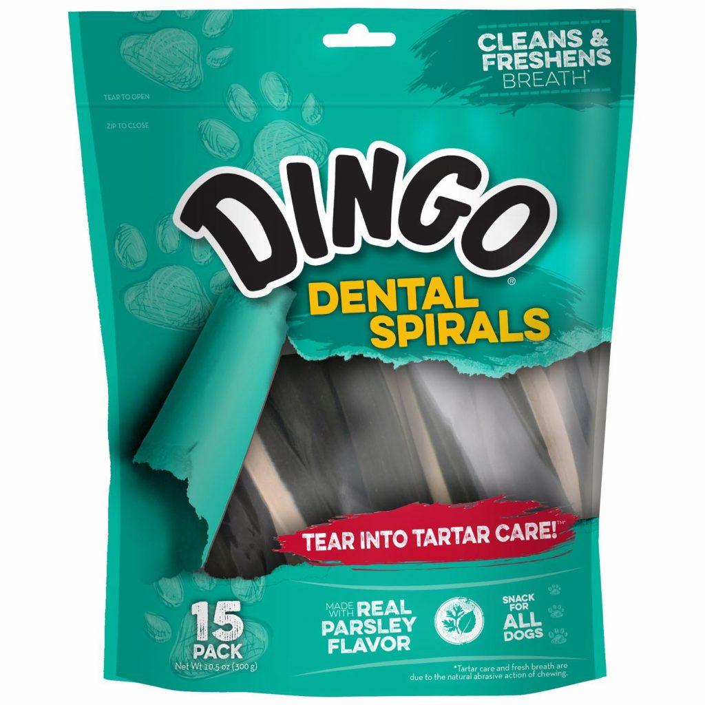 dingo dental spirals