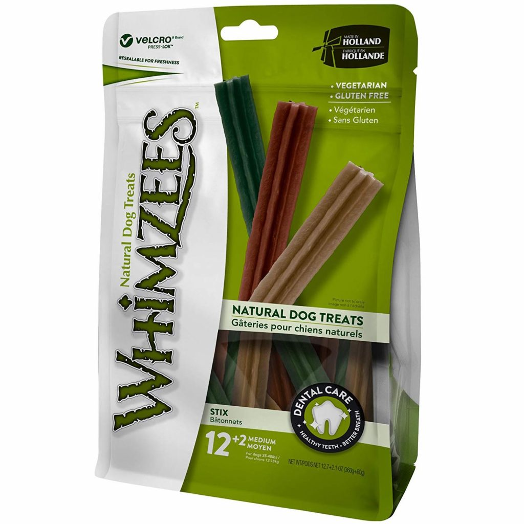 whimzees dental chews for dogs