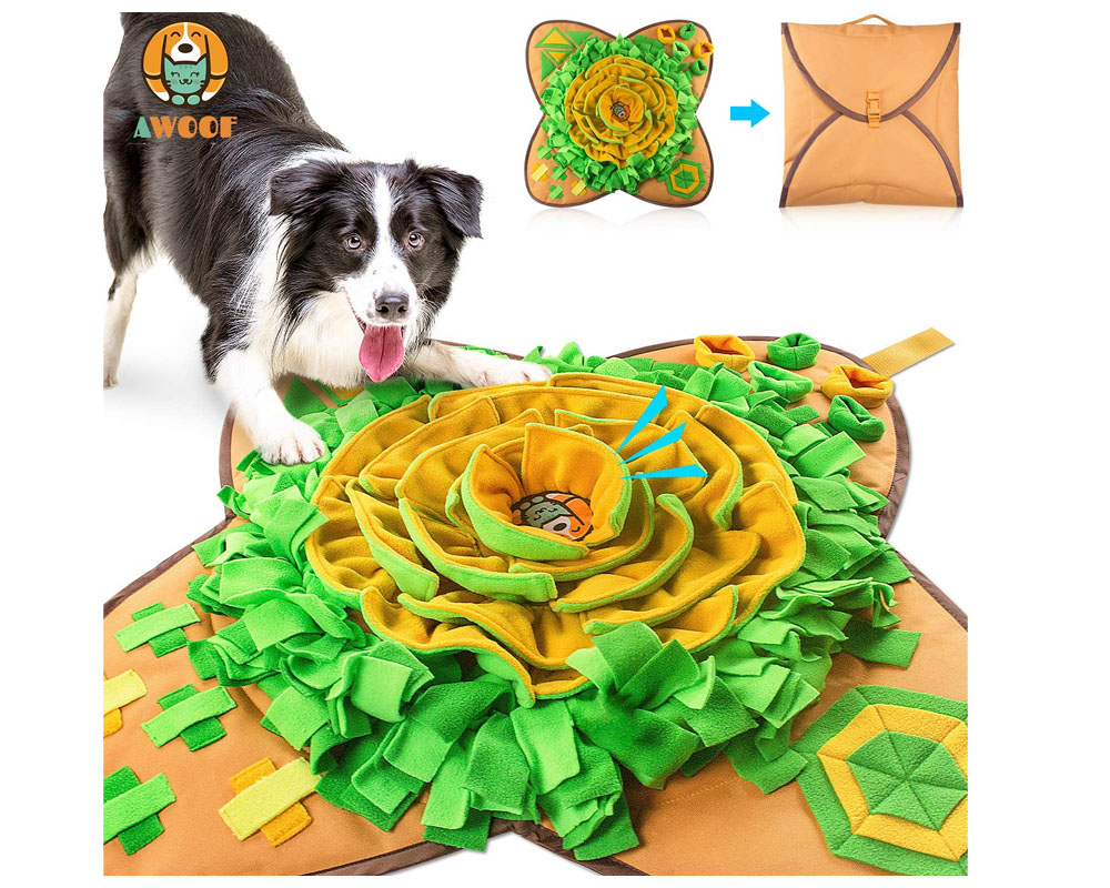 dog activity snuffle mat