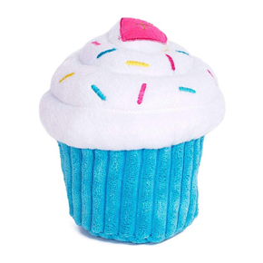 Cupcake plush toy for dogs