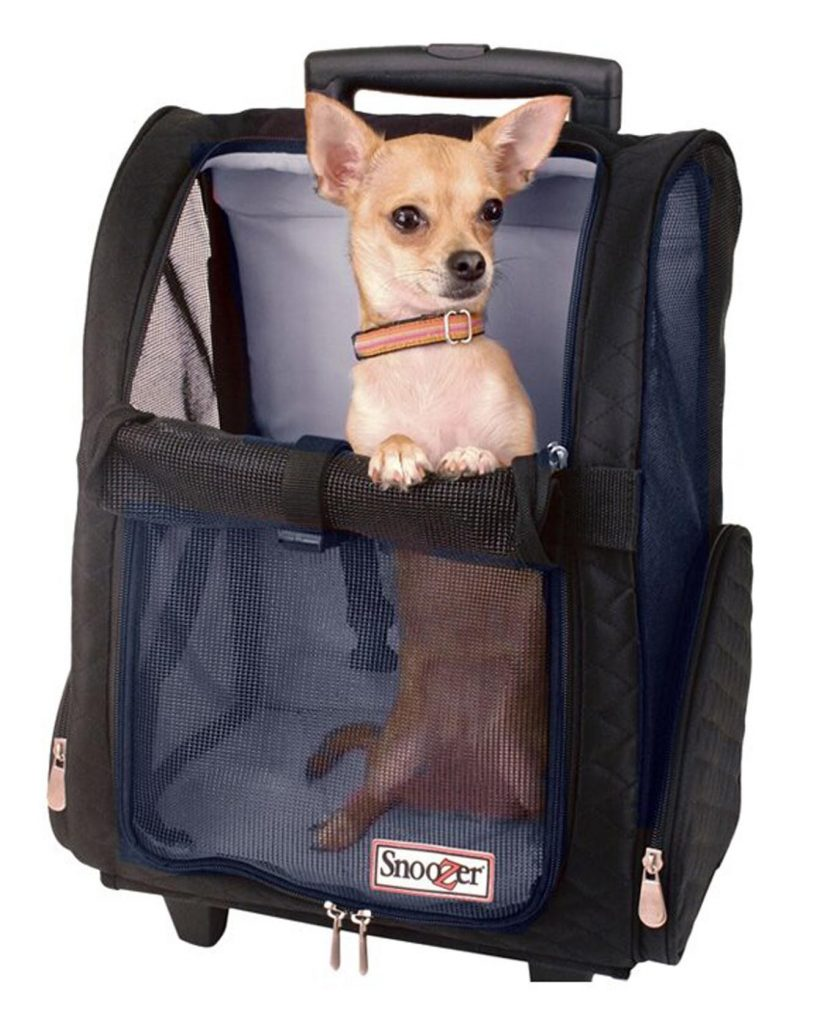 Snoozer Wheeler Dog Carrier