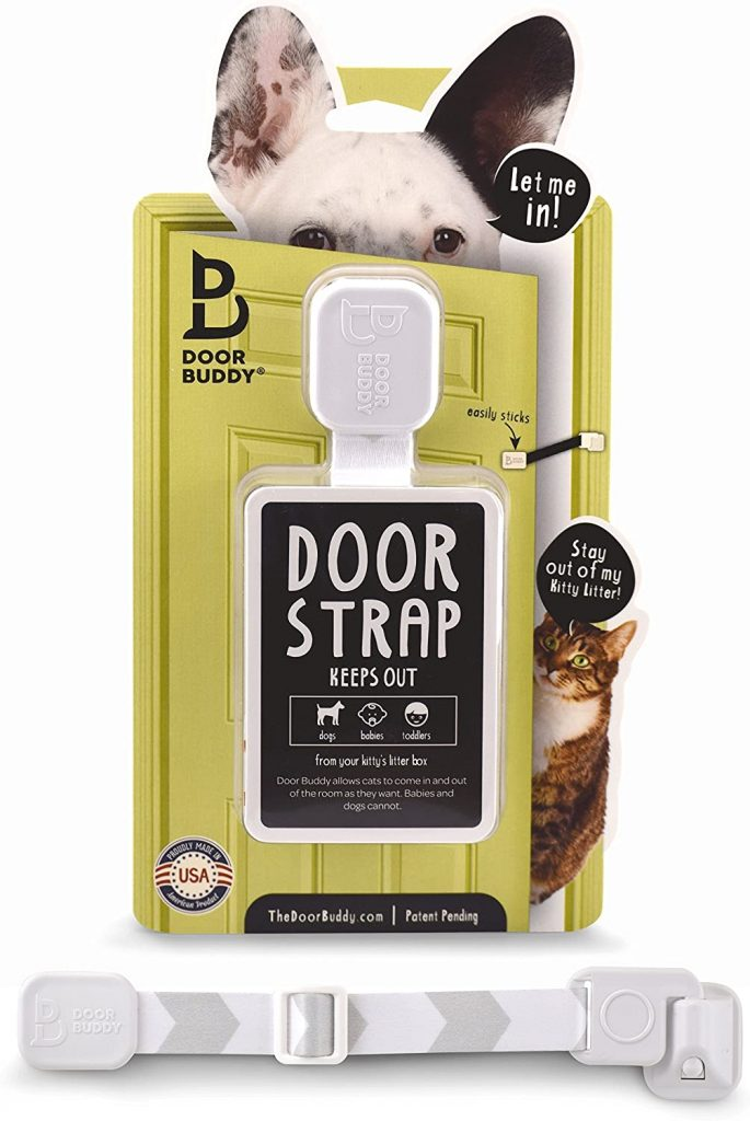 Door Buddy door latch and strap
