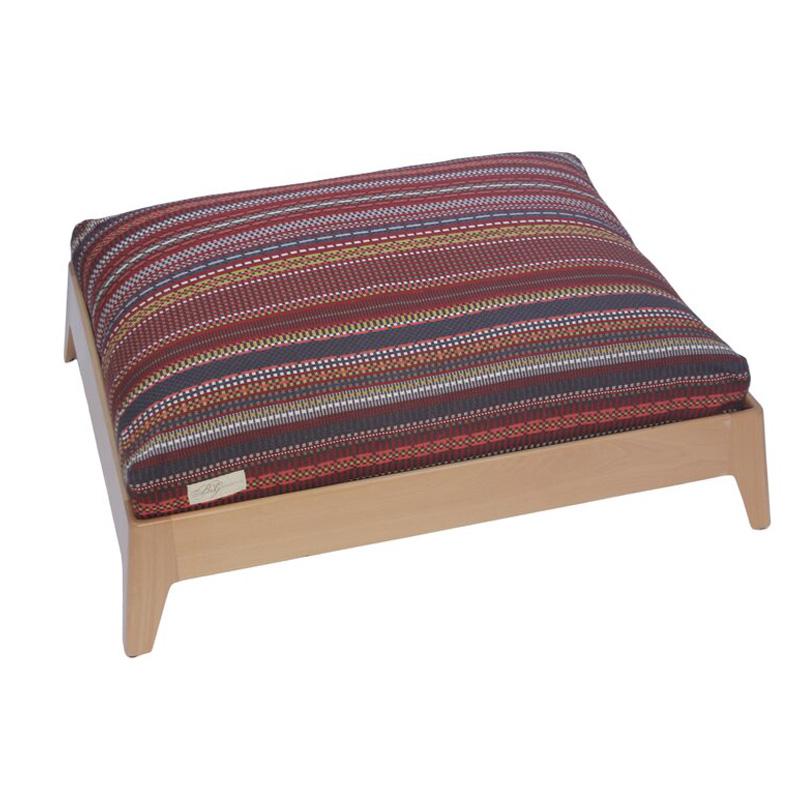 MidCentury Modern Platform Dog Bed