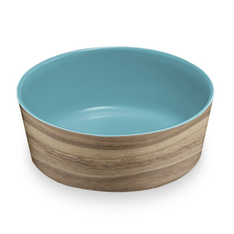 Modern Wooden Pet Bowl