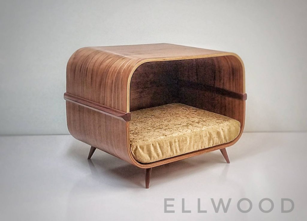ROUND-UP: Mid-Century Modern Dog Beds, Dog Crates & Pet Bowls