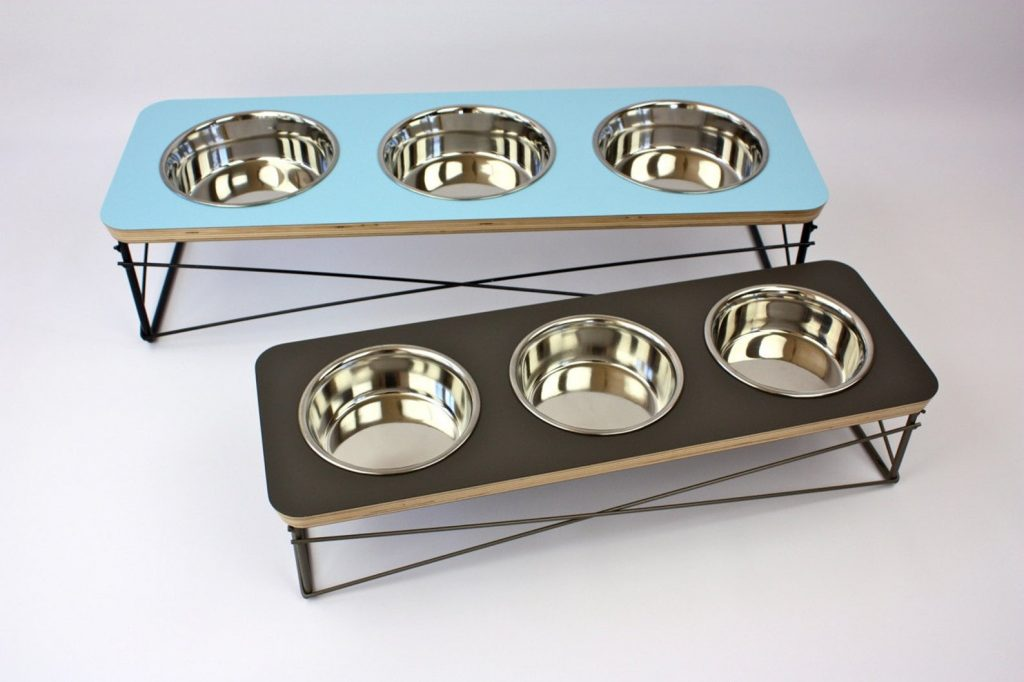 MidCentury Modern Pet Bowls