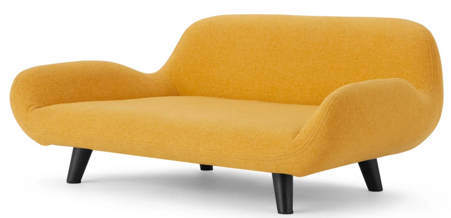 'Moby' Pet Sofa in Mustard from Made.com