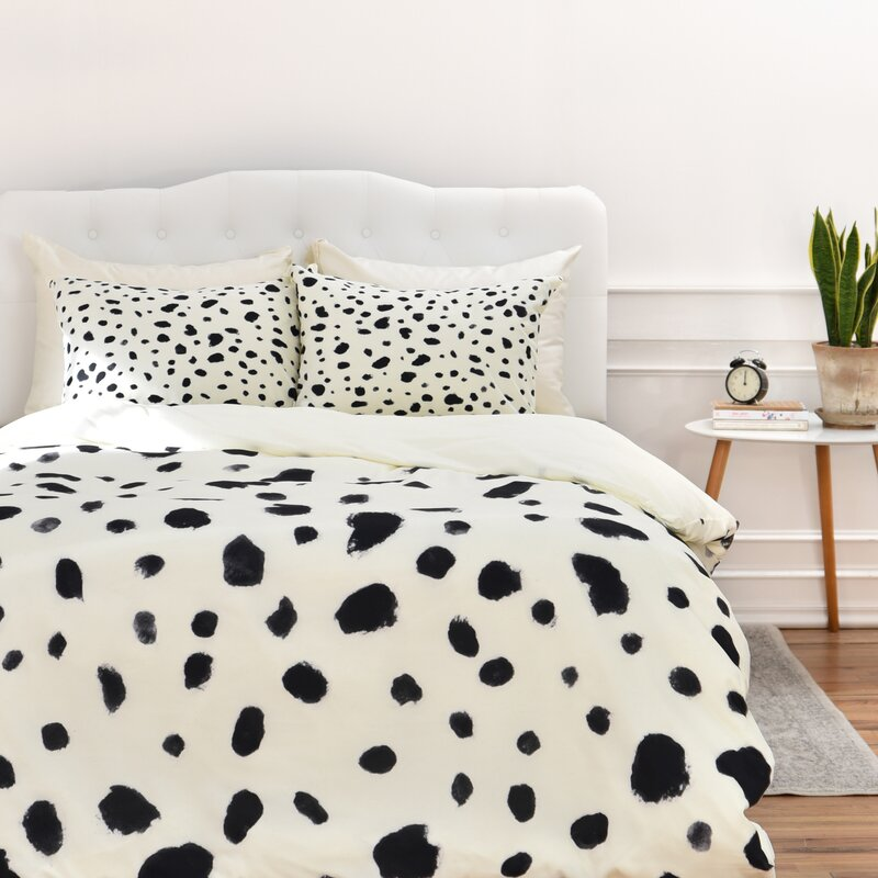 Dalmatian Duvet Cover via Wayfair.