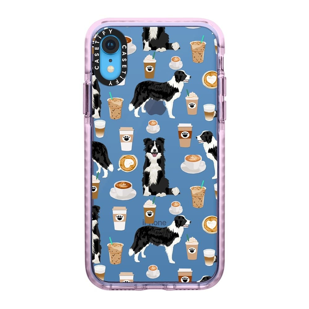 Border Collie Coffee Lover Phone Case