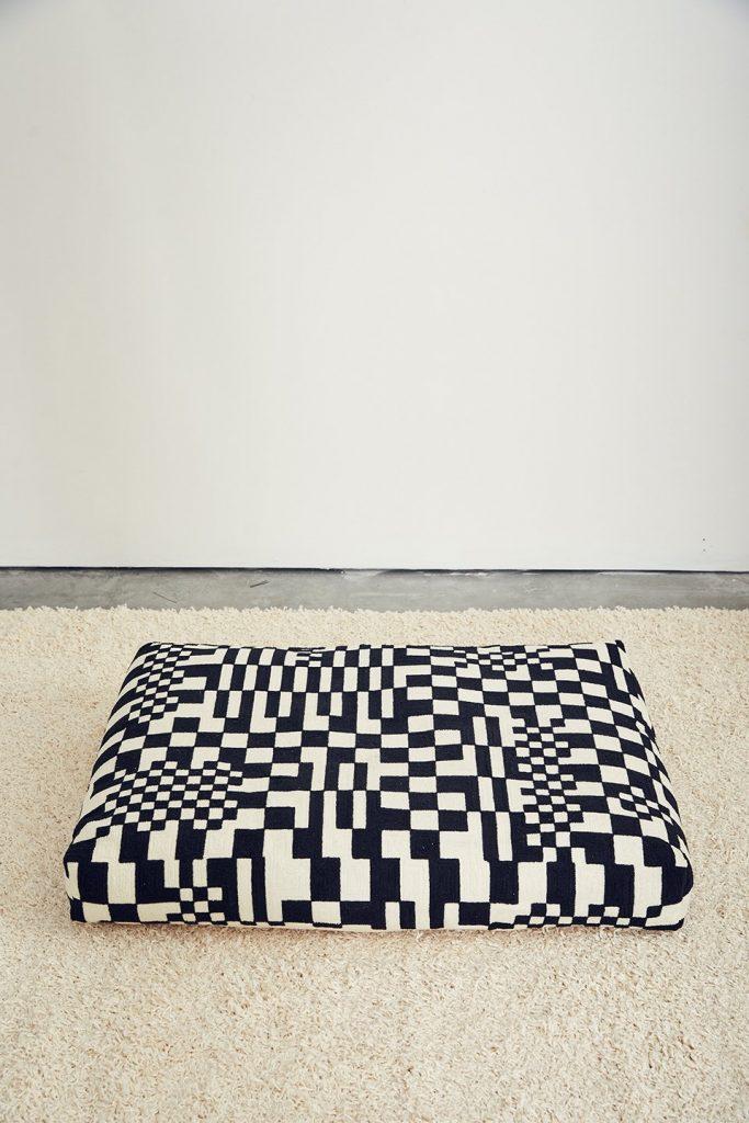 Dusen Dusen Check Dog Bed via Nordstrom (Image via Dusen Dusen)