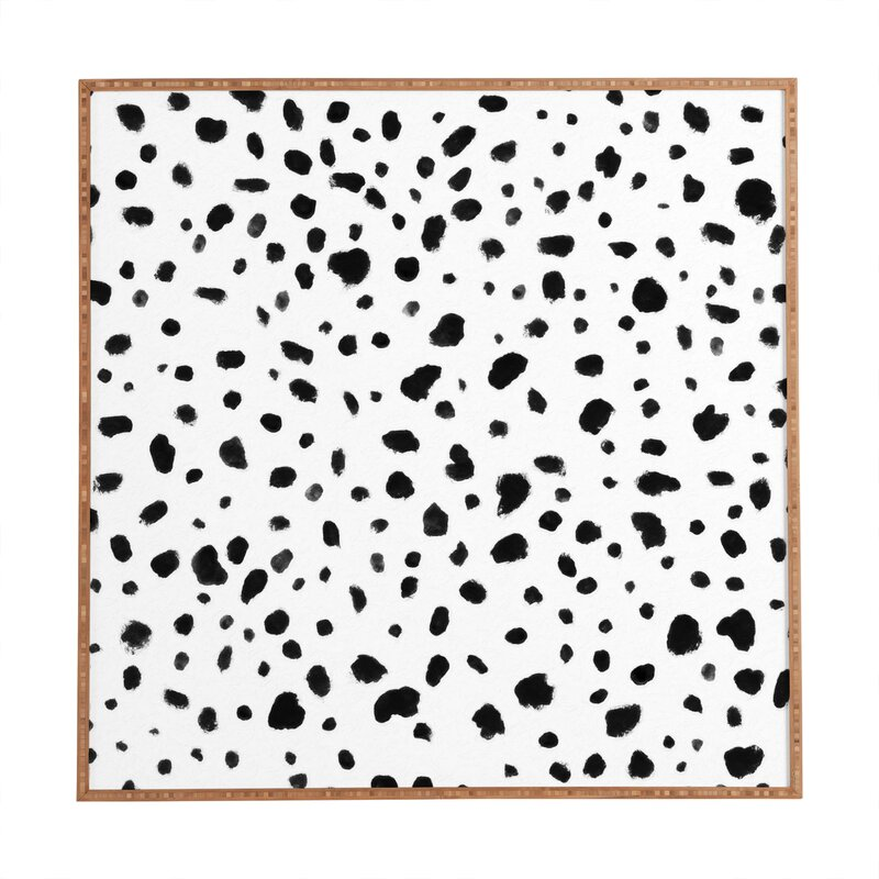 Framed Dalmatian Print Wall Art from Wayfair.