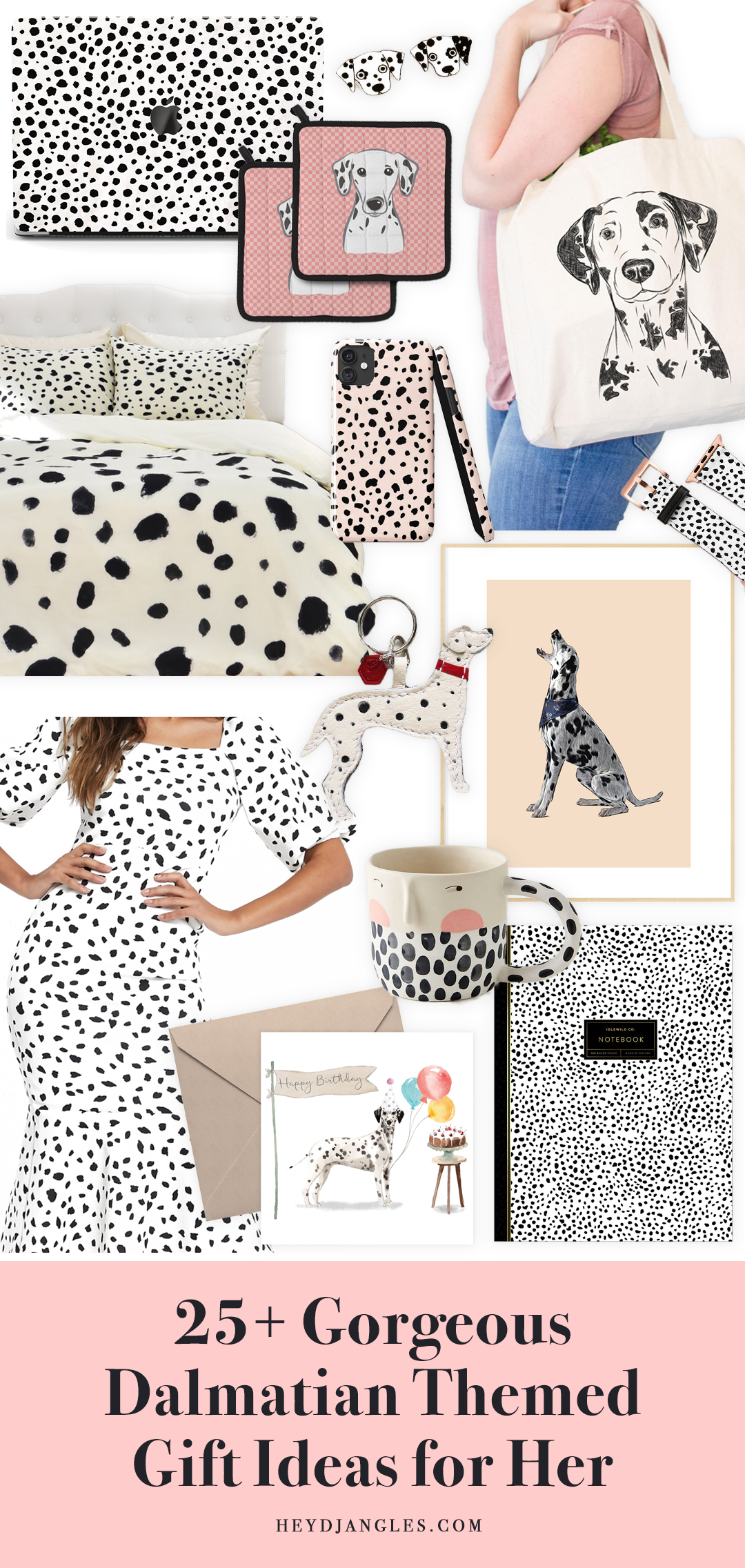 25+ Gorgeous Dalmatian Gifts for Her - Dalmatian gift ideas and accessories.