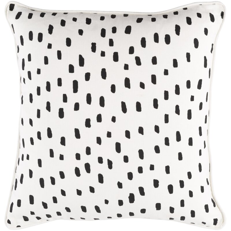 Dalmatian Spot Throw Pillow from Wayfair.