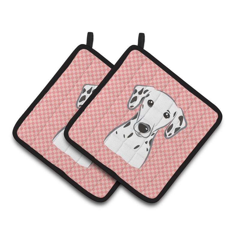 Dalmatian Pot Holders from Wayfair.