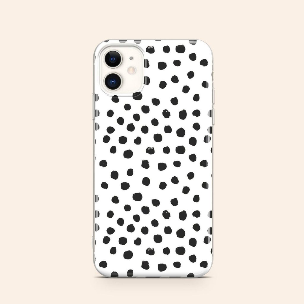 Dalmatian Print Phone Case via YourBestOfCase on Etsy.