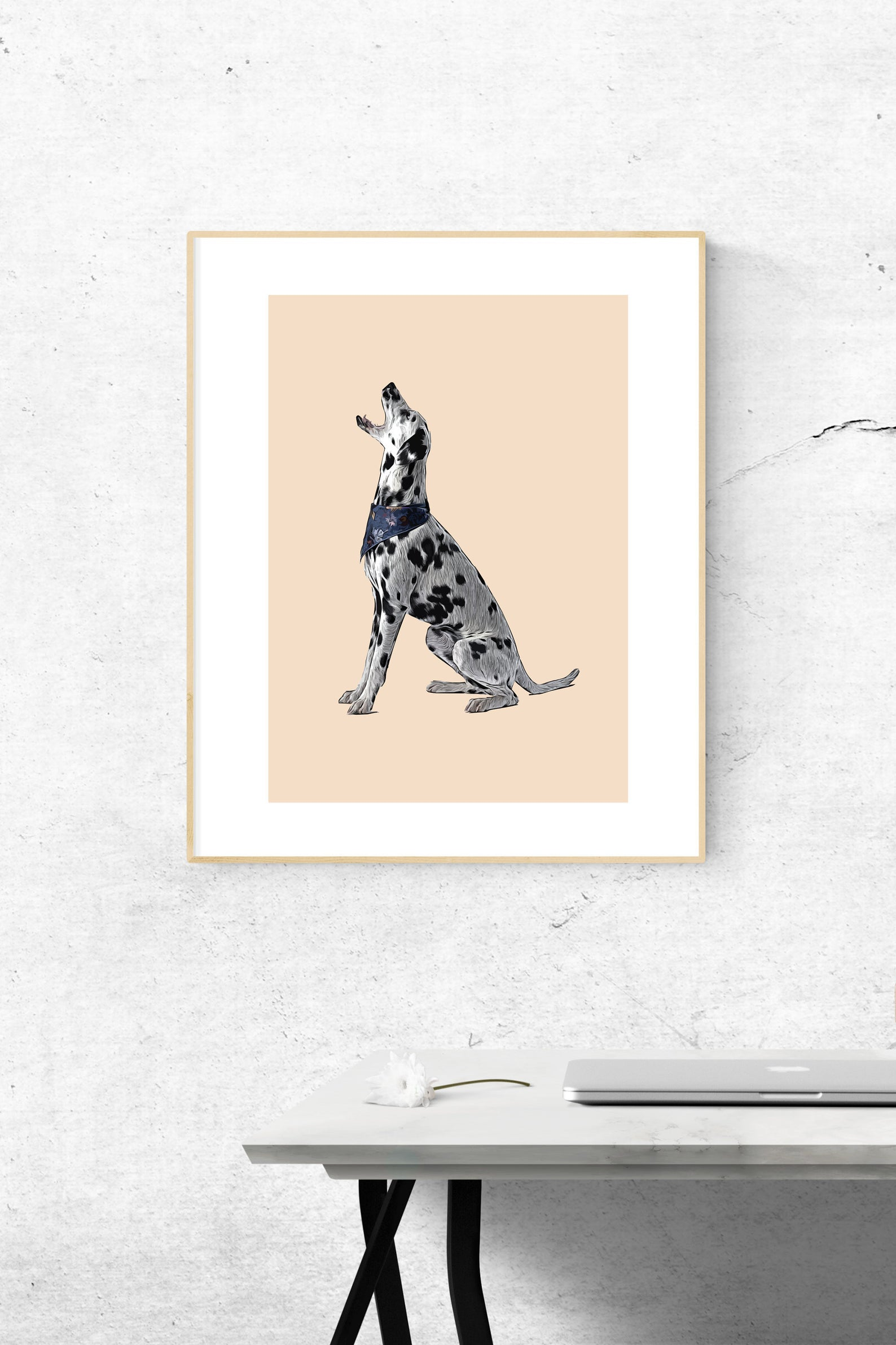 25+ Gorgeous Dalmatian Gifts for Her - Premium Matte Dalmatian Poster Print via FuzzyGiftCo on Etsy.