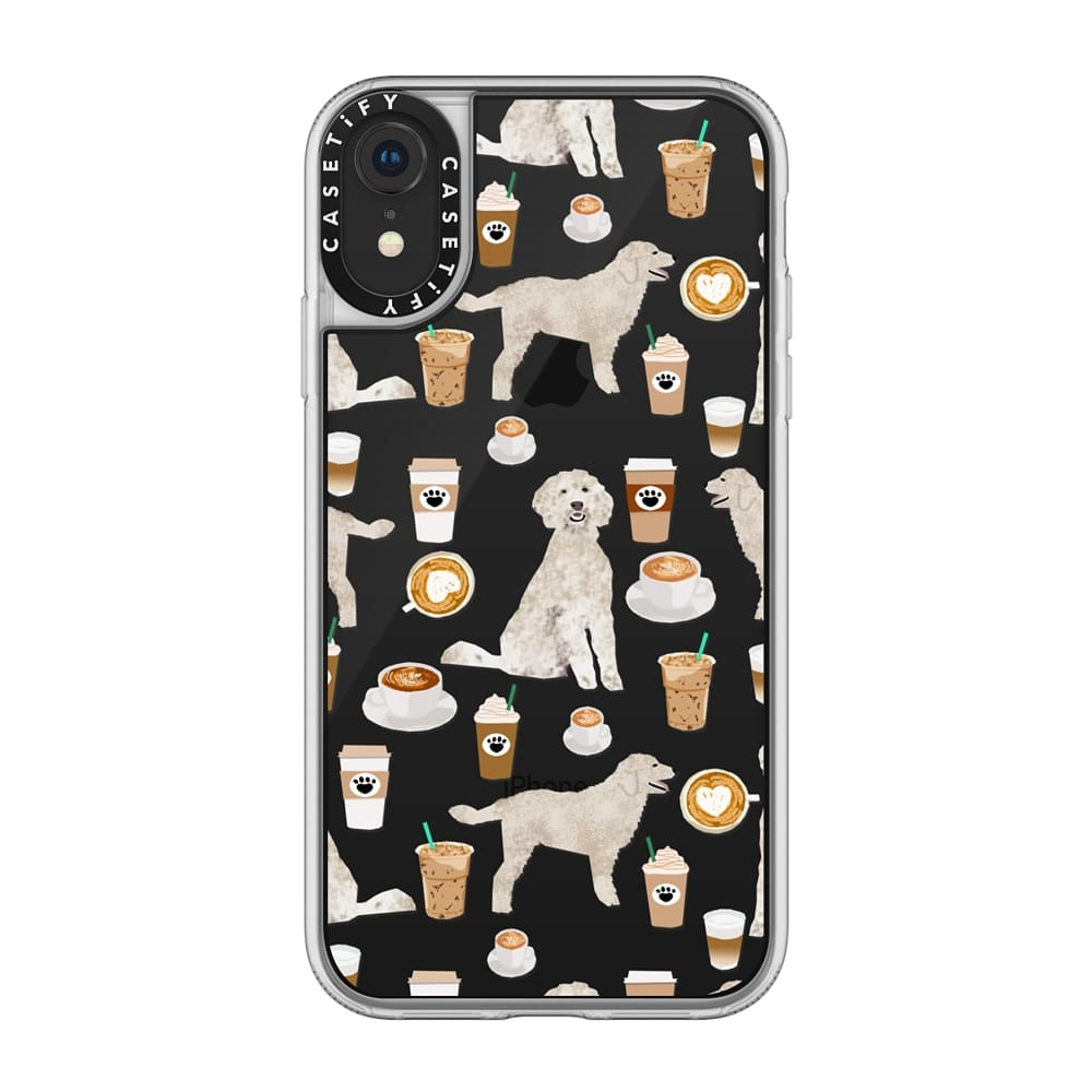 Goldendoodle Coffee Lover Phone Case