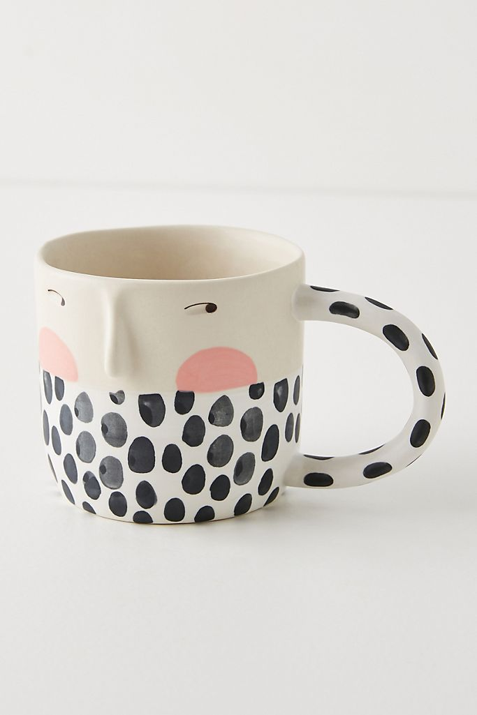 Polka Dot Mug via Anthropologie.
