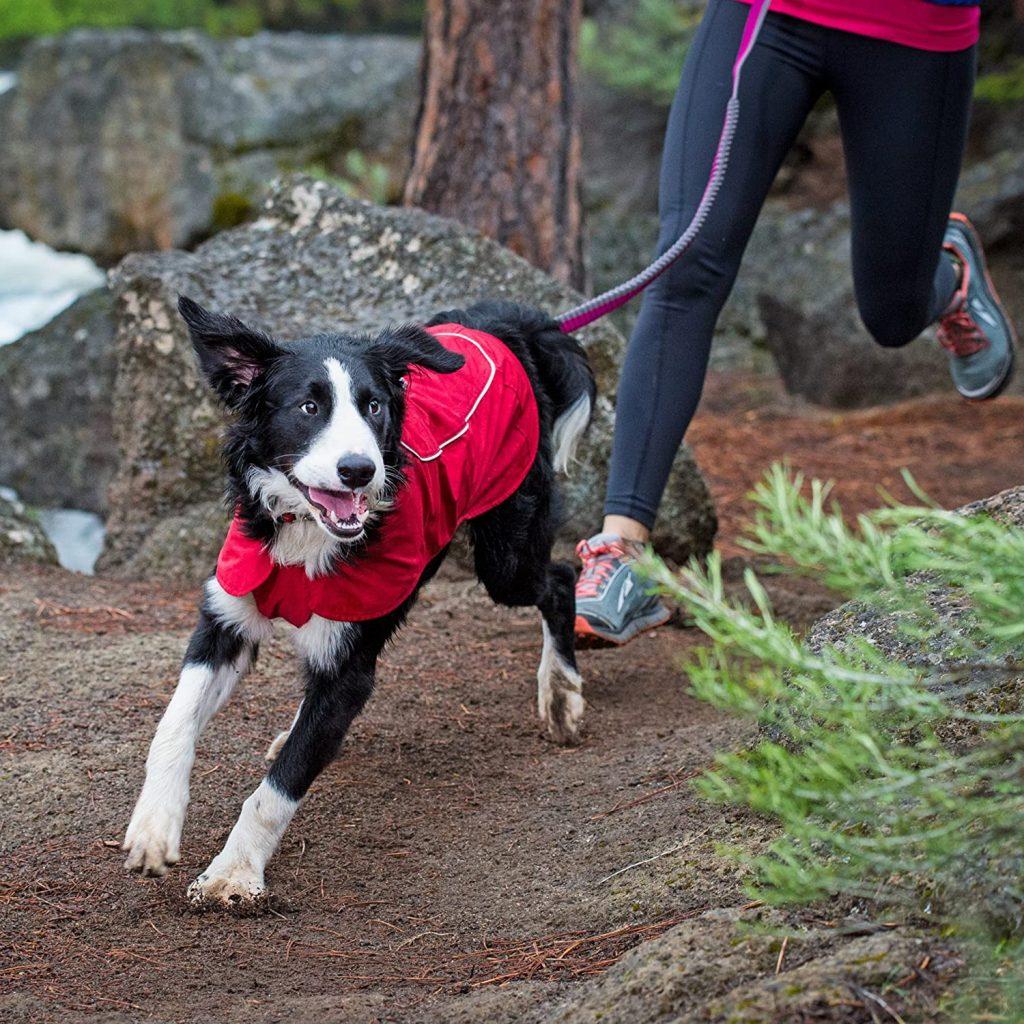 RUFFWEAR – Aira Waterproof Breathable Rain Jacket for Dogs via Amazon.