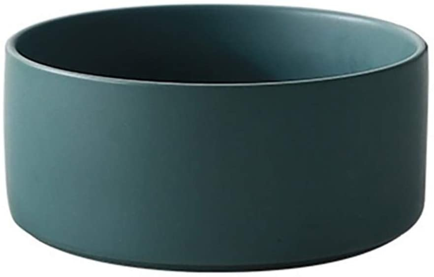 Teal Heavyweight Dog Bowl via Amazon