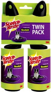 Best pet hair remover for clothing - Scotch-Brite Pet Hair and Lint Roller via Amazon.