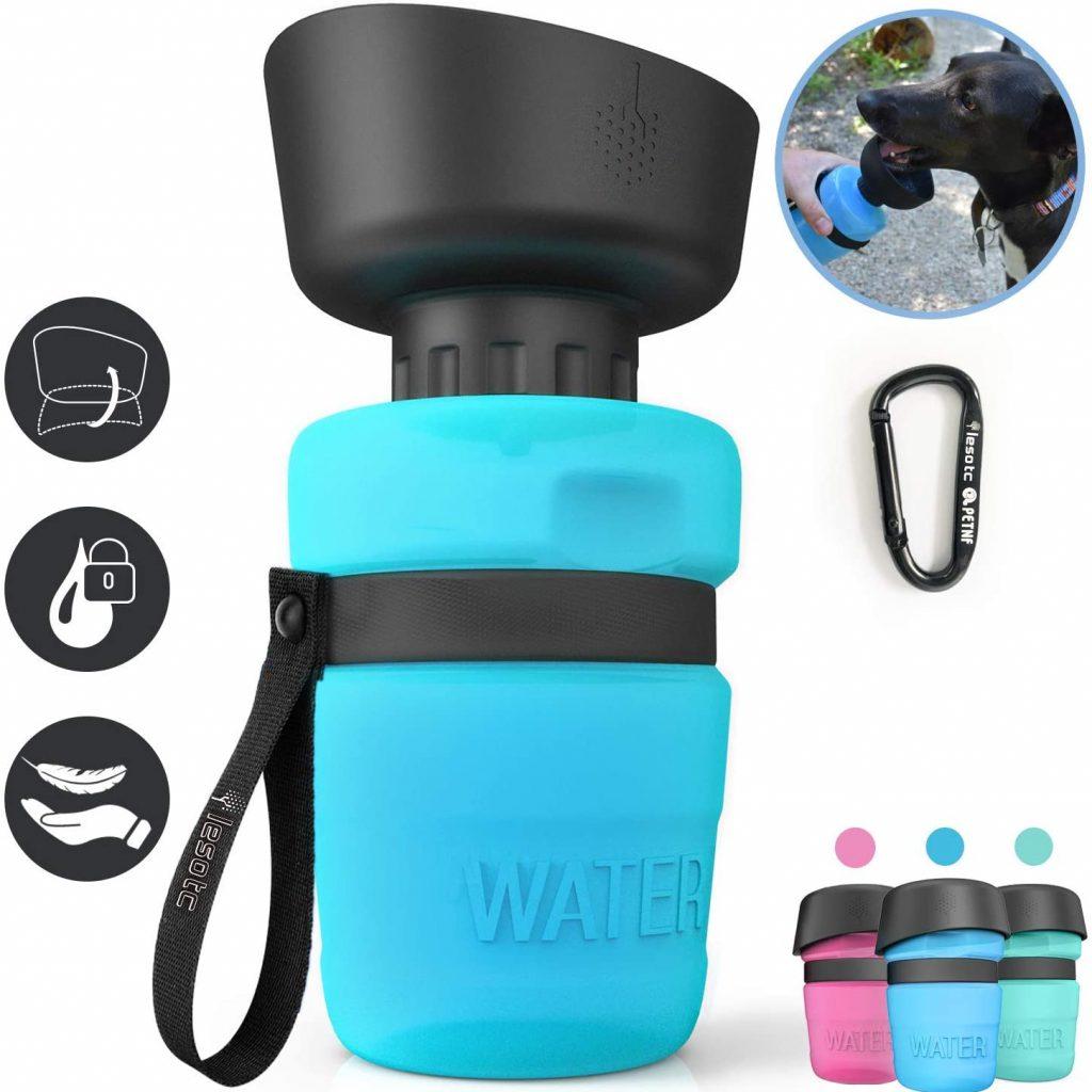 Dog Travel Drink bottle via Amazon.