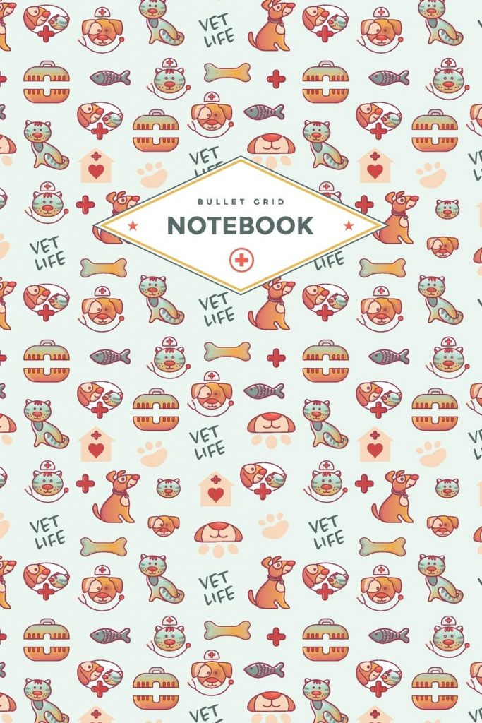 Vet Life notebook via Amazon. Vet gift ideas.