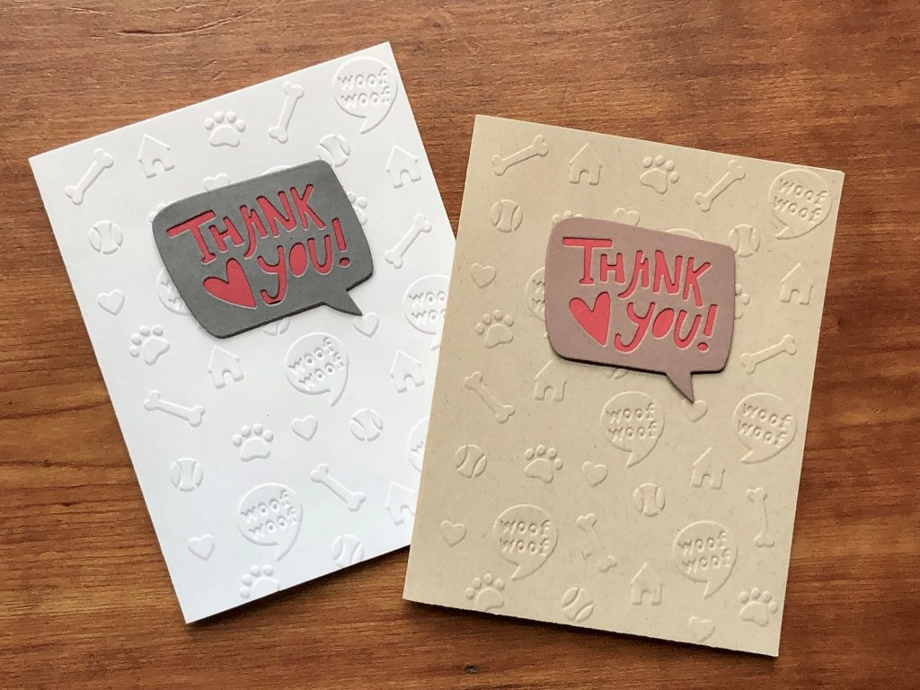 Vet Thank You card via Etsy.