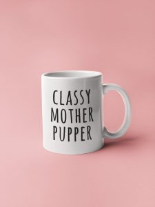 27 Awesome Veterinarian Gift Ideas - Vet themed mug, 'Classy Mother Pupper', via Etsy.