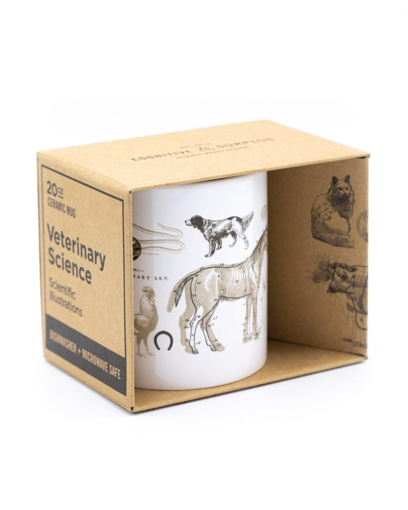 Veterinary Science 20oz mug via Etsy, Vet gifts.