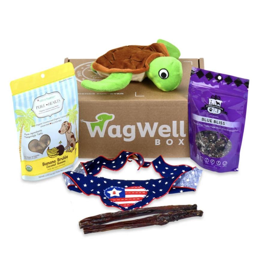 WAGWELL DOG BOX
