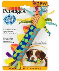 Petstages Freezable Teething Stick via Amazon